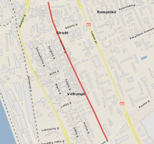 Birutes Street