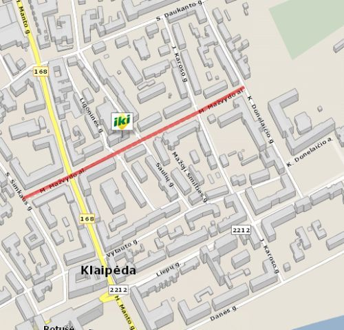 M. Mazvydo Avenue