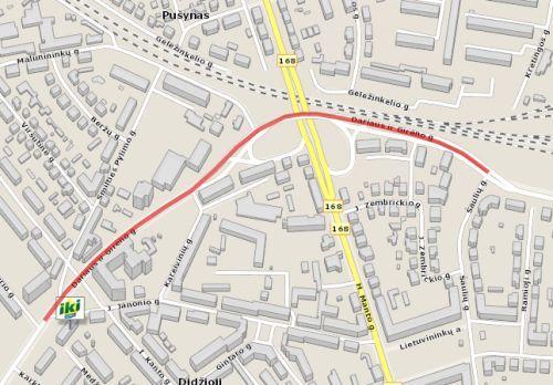 S.Dariaus ir S.Gireno Street