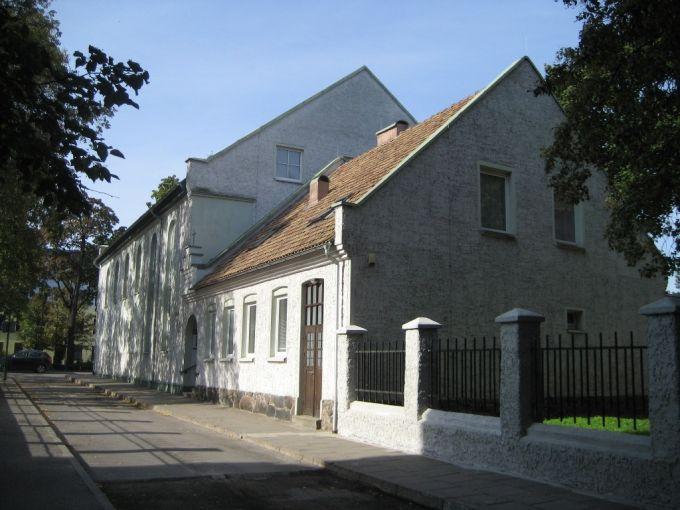 Klaipėdos evangelikų baptistų bažnyčia ir pastoriaus namas