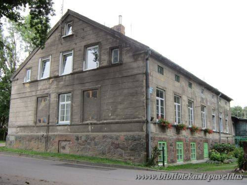 Paupio dvaro sodybos ir ligoninės pastatų kompleksas vad. Bachmano dvarupas, 2012 m.