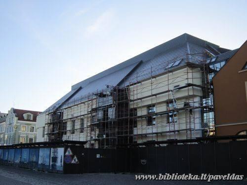 Teatro g. 2, 2013 m. (Iš Žvejų g. pusės)