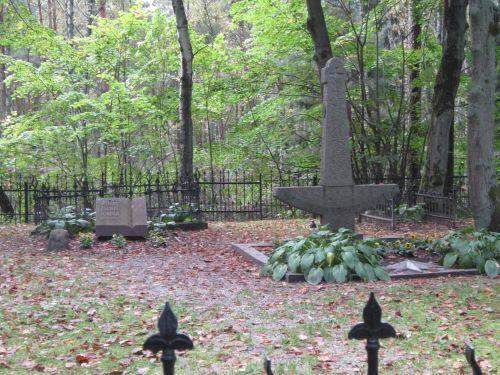 Die Grabstätte von J. Zilius-Zilinskas und L. Stulpinas