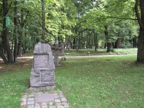 Alter Friedhof der Stadt Klaipeda
