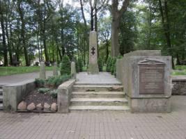 Die Begräbnisstätte der litauischen Soldaten
