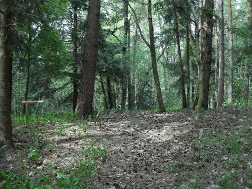I. alter Friedhof des Dorfes Melnrage