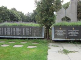 Das Denkmal für sowjetische Soldaten, 2014.