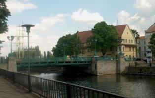 Die Birzos (Börse) Brücke, 2002.