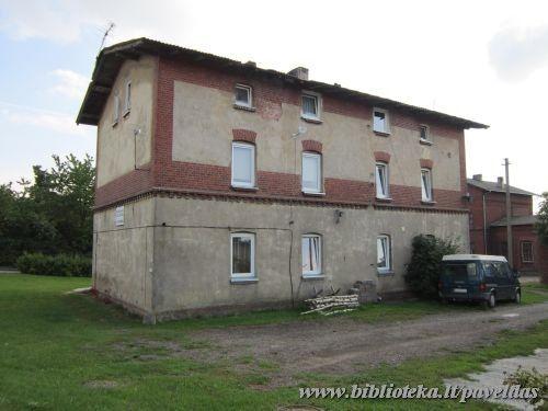 Rimkų Railway Station Building Complex (2, 4, 6 Rimku St.)